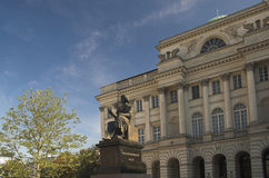 Kopernikus-Denkmal Stockbild