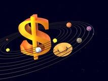 Kopernikus war falsch Stockfoto