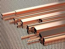 Koperpijpen Stock Fotografie