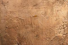 Kopersteen geschilderde textuur buitenkant-1 stock foto
