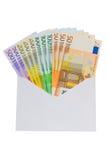 kopertowy euro Obrazy Royalty Free
