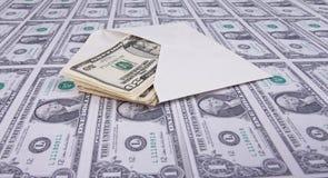 kopertowy pieniądze Obraz Royalty Free
