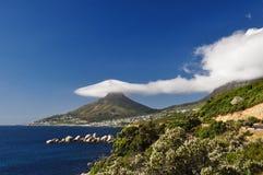 Kopf- Cape Town des Löwes, Südafrika lizenzfreie stockfotografie