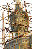 Kopf der Buddha-Statue Lizenzfreie Stockbilder