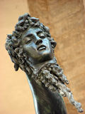 Kopf der Medusa Stockfotografie
