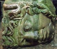Kopf der Medusa stockbild