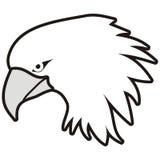 Kopf des Adlers Stockfotos