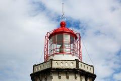Kopf des alten Leuchtturmes lizenzfreies stockbild