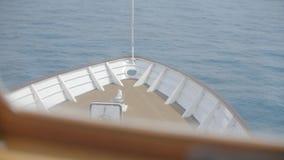 Kopf des Bootes stock video