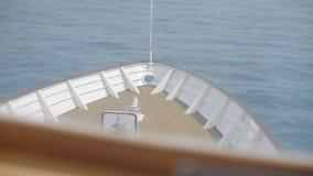 Kopf des Bootes stock footage