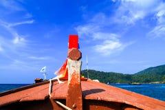 Kopf des Bootes Stockbilder