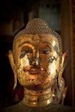 Kopf des Buddha-Bildes stockbild