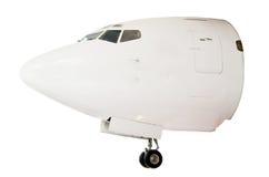 Kopf des Flugzeuges Stockbild