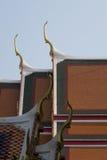 Kopf des Garuda Stockfotos
