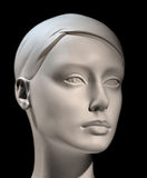 Kopf des Mannequins Lizenzfreie Stockfotos