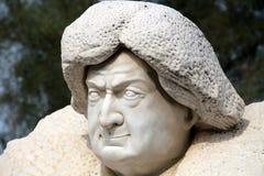 Kopf des Steins stockfotos