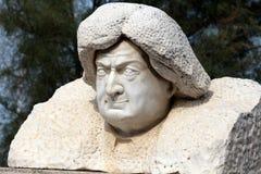 Kopf des Steins stockbild