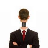 Kopf ein gerade geschraubt Lizenzfreie Stockbilder