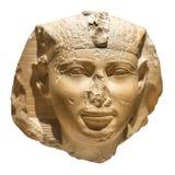 Kopf eines acient ägyptischen Pharaos Lizenzfreie Stockfotografie