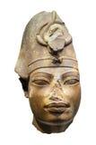 Kopf eines acient ägyptischen Pharaos Lizenzfreies Stockbild
