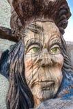 Kopf eines Fantasiecharakters Lizenzfreies Stockbild