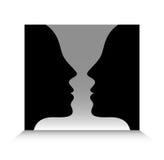 Kopf-an-Kopf- Stockbilder