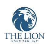 Kopf-Lion Circle-Zusammenfassung Stockbilder