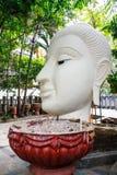 Kopf von Buddha-Statue Lizenzfreies Stockfoto