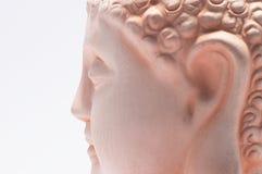 Kopf von einem Buddha Stockfotografie