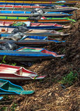 Kopf von langen Booten Lizenzfreies Stockfoto
