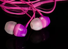 Kopfhörer für Alltagskleidung stockbilder