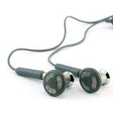 Kopfhörer getrennt auf einem Weiß Lizenzfreie Stockbilder