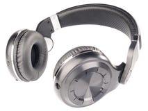 Kopfhörer getrennt auf Weiß Stockbild