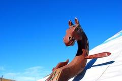 Kopfinstrument des Pferds Stockfotografie