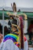 Kopfkleid und -kleidung des amerikanischen Ureinwohners Lizenzfreie Stockfotos