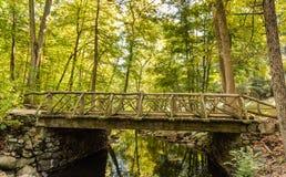 Kopfloser Reiter-Brücke - schläfrige Höhle, NY Stockfotos