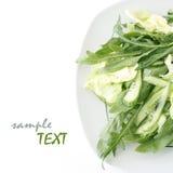 Kopfsalat und Arugula Stockfoto