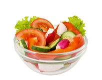 Kopfsalat vom Gemüse Stockfoto