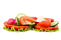 Kopfsalat vom Gemüse Stockbilder