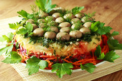 Kopfsalat vom Gemüse Lizenzfreies Stockbild