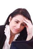 Kopfschmerzen! Lizenzfreie Stockbilder
