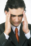 Kopfschmerzen lizenzfreie stockfotografie