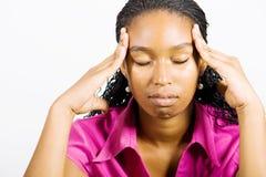 Kopfschmerzen Lizenzfreies Stockfoto
