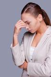 Kopfschmerzen töten Lizenzfreie Stockfotografie