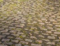 Kopfstein-Straßen-Detail lizenzfreies stockfoto