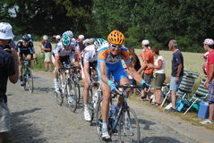Kopfsteine verletzt (Tour de France '10) Lizenzfreie Stockfotos