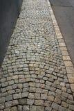 Kopfsteinweg Stockbild