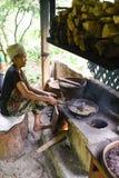 Kopi Luwak咖啡燃烧器 库存照片