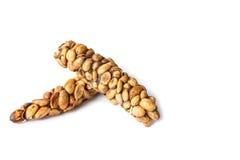Kopi Luwak lub cybet kawa odizolowywająca na bielu Obrazy Royalty Free