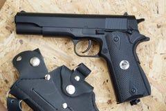 Kopia Amerykański pistolet dla pneumatycznego ostrzału zdjęcia stock